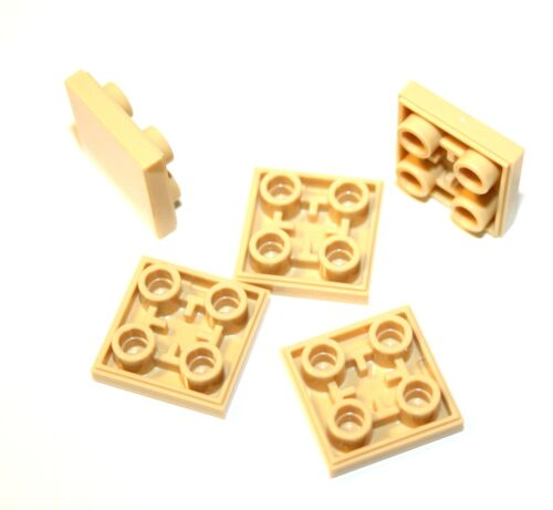 5x LEGO® Fliese//Platte invers 2x2 11203 NEU Beige Tan