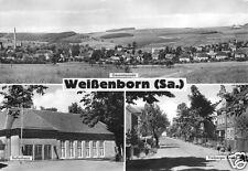 AK, Weissenborn Sachs., drei Abb., u.a. Kulturhaus 1970