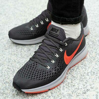 Nike Air Zoom Pegasus 34 Running Baskets Gym Taille UK 7.5 (Eur 42) Thunder gris | eBay