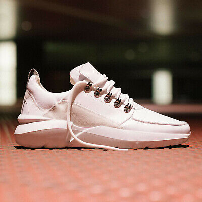 Nubikk Amsterdam Elven Royal White Trainers Light Quality Leahter Trainers Gr.41 | eBay