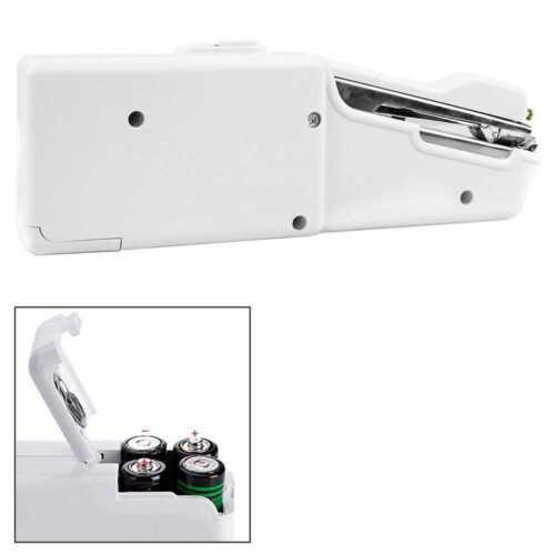 Handnähmaschine Mini Kompakt Reise Elektrische Nähmaschine Batterie Cordless