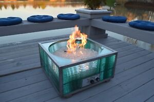 Image Is Loading New Custom Outdoor Natural Gas Fire Pit And