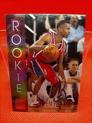 1996-97 Topps Stadium Club Basketball Card # R16 Allen Iverson
