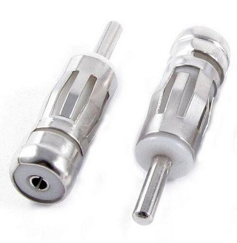 Antenne Verlängerung Adapter Stecker ISO Kupplung Buchse DIN Radio Auto PKW KFZ