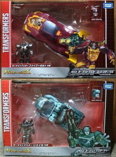 Takara Tomy Transformers Legends LG45 Hot Rod LG46 Kup Brand NEW 2pc SALE