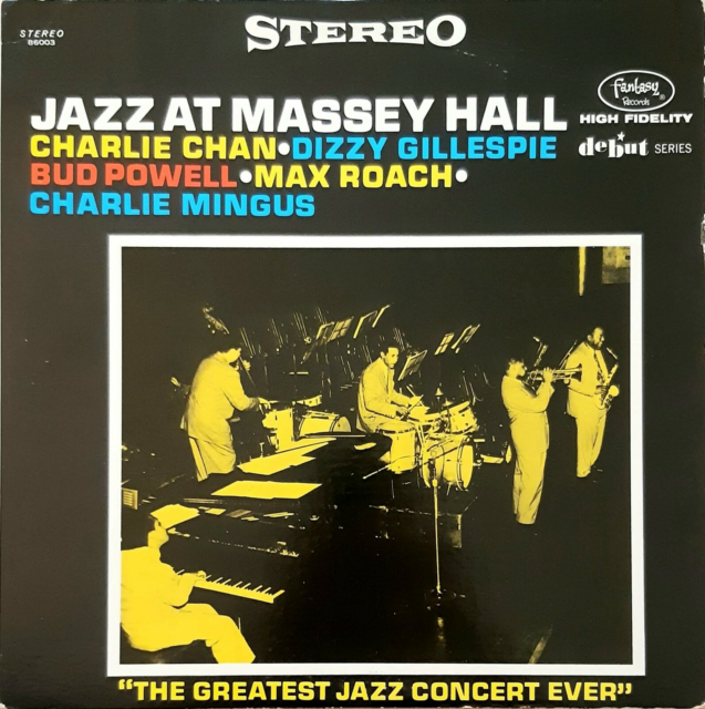 LP, Jazz At Massey Hall, Jazz, vg+/vg+  This is a piece of…