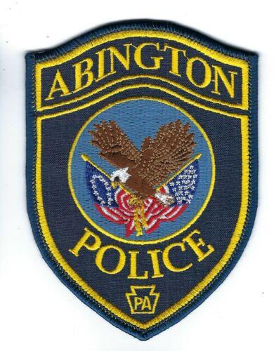PA Pennsylvania Police patch Abington Twp. NEW! Montgomery County