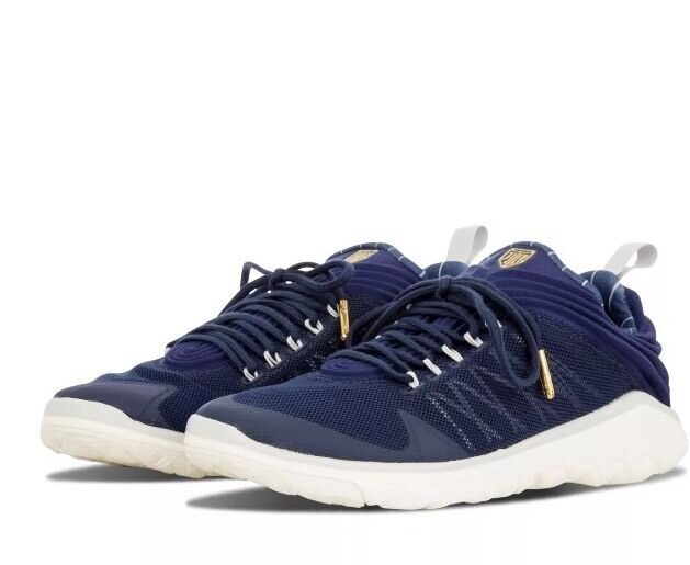 NWT Nike Jordan Flight Flex Trainer Derek Jeter- gold Navy- 715855-402 - SZ-18