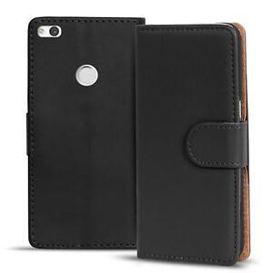 Handy-Huelle-fuer-Huawei-P8-Lite-2017-Case-Schutz-Tasche-Cover-Basic-Flip-Bookcase