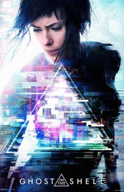 - Scarlett Johansson Ghost in the Shell Movie Poster Michael Wincott v2 24x36