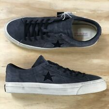 34c5ceb14b8 Converse X John Varvatos One Star Ox Beluga Black Casual Shoes (145381C) Size  9