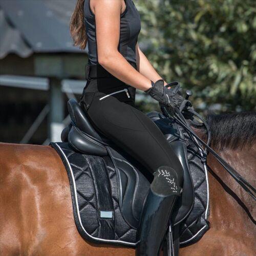 2021 Horse Riding Leggings Tights Grip Phone Pocket Pants Women Ladies SALE