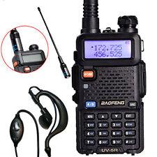 Baofeng UV-5R UHF 136-174MHz Two-Way Ham Radio Walkie Talkie + NA-701 Antenna