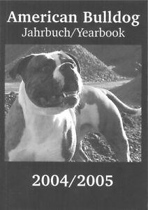American-Bulldog-Jahrbuch-Yearbook-2004-2005
