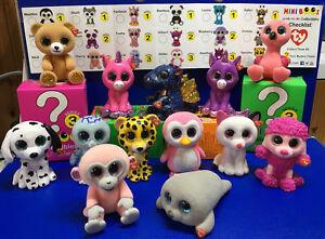W-f-l Ty Mini Boos Série 3 Figurines À Collectionner 5 Cm Glubschis Séléction