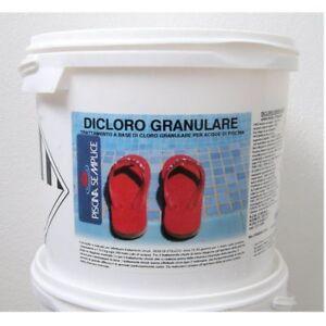 Dicloro-Granulare-cloro-piscina-56-10-Kg-Per-Piscine-Lapi-Azione-Rapida