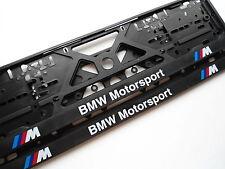 Pareja de portamatriculas BMW M (e31,e34,e46,e90,e92,e57,e87,e39,320,318,x3,x5)
