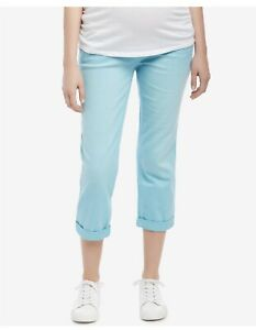 Motherhood-Maternity-Cropped-Pants-Size-Medium