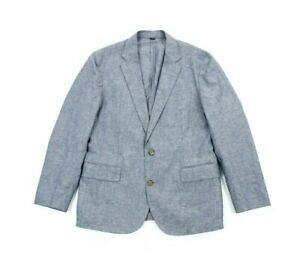 J-Crew-Ludlow-Mens-Portuguese-Cotton-Linen-Slim-Fit-Unstructured-Jacket-Size-40S