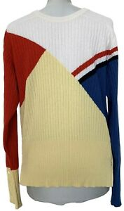 THOM-BROWNE-MEN-039-S-COLORFUL-CASHMERE-SWEATER-3-3250