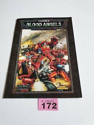 Coscienzioso Warhammer 40k Codex Blood Angels Supplemento Games Workshop-mostra Il Titolo Originale Un Rimedio Sovranazionale Indispensabile Per La Casa