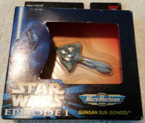 """2.5/"""" Star Wars Episode 1 Micro Machines Gungan Sub Bongo Vehicle MIB Galoob 1999"""