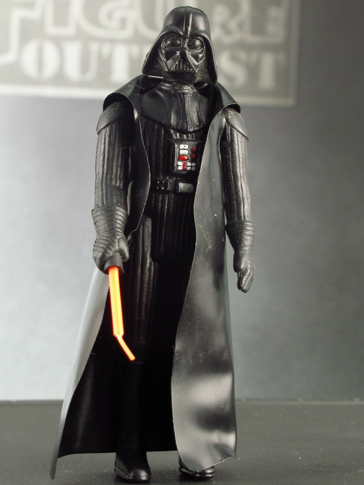 DARTH DARTH DARTH VADER 1977 Vtg Action Figure STAR WARS New Hope COMPLETE Authentic No COO 1c7ae6