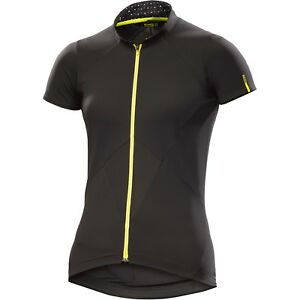 72c3537f9 Image is loading Mavic-Women-039-s-Sequence-Jersey-Black-Cycle