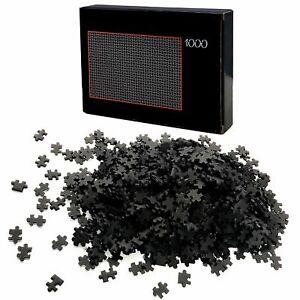 Puzzle-1000-Teile-Schwarz-Schwer-Erwachsenenpuzzle-Premiumpuzzle-Erwachsene