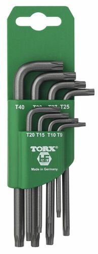 8 pcs HaFu H511-380-08 Torx Key Set Star Key Set Made In Germany