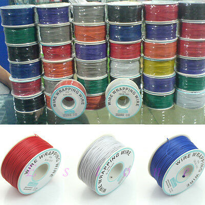 0.25mm Wire-Wrapping Wire 30AWG Cable 305m 10 Colors New
