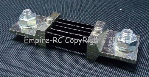 Shunt Widerstand Für Gleichstrom Meter Amp Analog Panel Ammeter 75mV 500A
