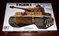 WWII german Sd.Kfz. 181 Tiger I Midd Produktion 1:35 Tamiya 35194  Neu