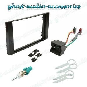 Inex IXFKFD114 Double Din Stereo Fascia Fitting Kit for Ford