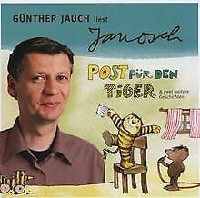Posta-per-la-tigre-lepri-bambino-di-Gunther-legge-Janosz-Jauch-CD-stato-bene