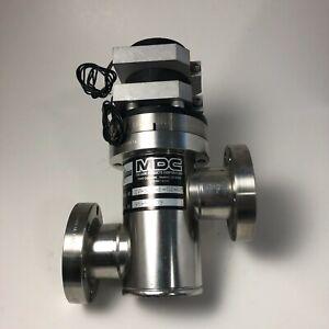 """MDC IV-150-P-02-03 2.75"""" Conflat CF Pneumatic Vacuum Valve w/ Solenoid & Switch"""