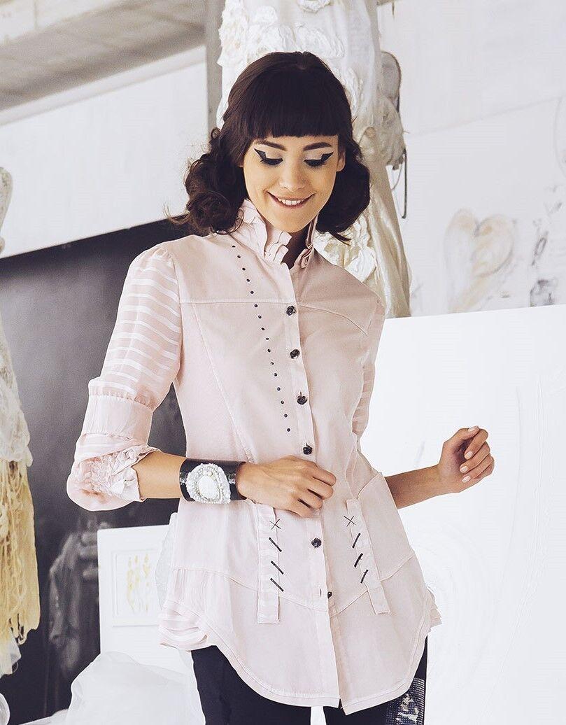 ELISA CAVALETTI Bluse/Blouse Swing Gr. L (40) Koll. HW17/18 rosé