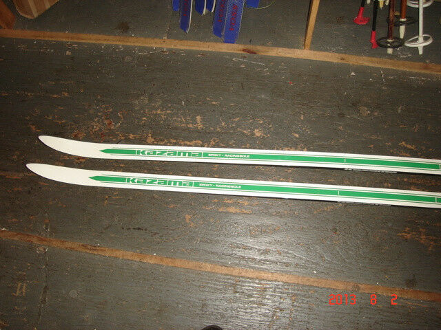 KAZAMA HIGH COUNTRY   xc skis 200cm to 205cm also 170cm  high-quality merchandise and convenient, honest service