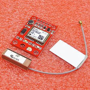 GYNEO6MV2-GPS-Module-NEO-6M-GY-NEO6MV2-Board-with-Antenna-for-Arduino