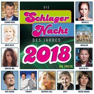 Die-Schlagernacht-des-Jahres-2018-die-Zweite-CD-NEU-OVP
