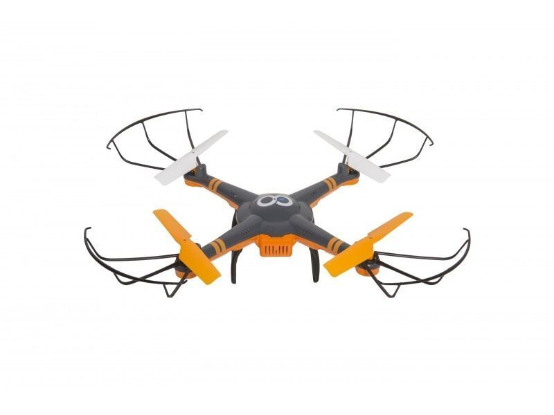 GoClever Drone Alfa 2.4Ghz 6-Axis Gyro 4 Channel Quadcopter