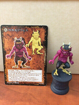 Demon/'s Chronicle XII 12 AGARES Color Figure YANOMAN JAPAN