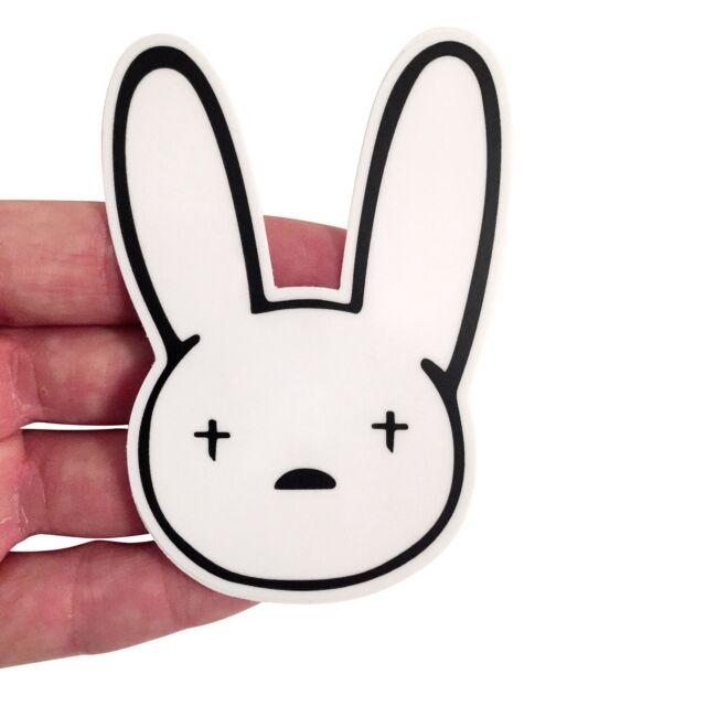 Bad Bunny Logo Vinyl Sticker Yhlqmdlg Bad Bunny Merch Laptop Ebay Bad bunny logo poster by danielardzg | redbubble. cad