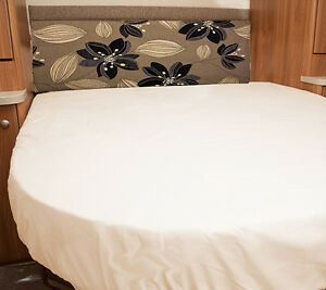 Auto-Trail-Delaware-Motorhome-Fitted-Sheet-Ivory-White-Walnut-Whip