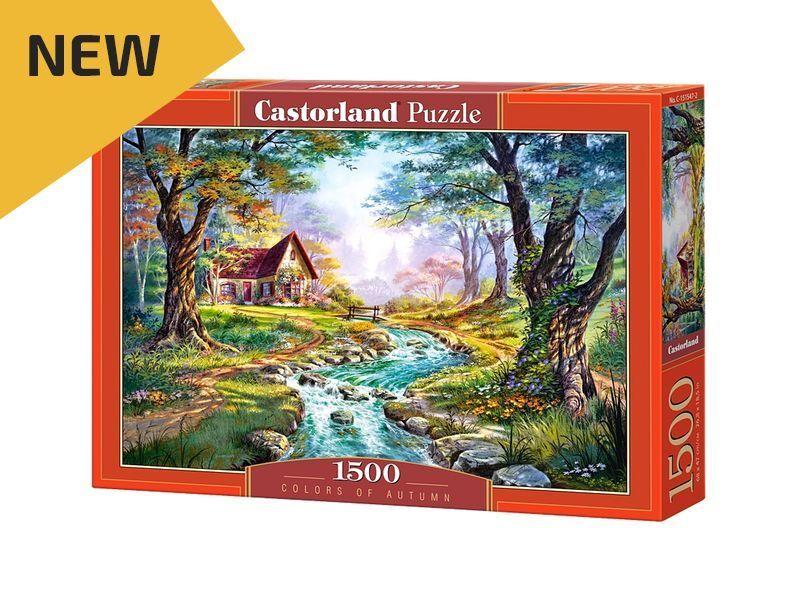 Castorland Puzzle 1500 Pieces - colors of of of Autumn - 27 x18.5  Sealed box C-151547 3c6bd9