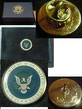 Presidential Barack Obama Lapel Pin - color seal