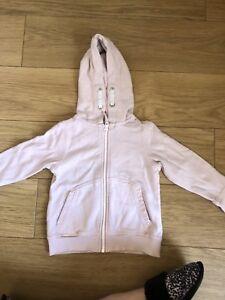 f4441d84bb65 Baby Girls Next 18-24 Months Pale Pink Hoodie Hoody Zip Jacket ...