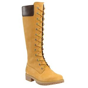 Image is loading Timberland-Women-039-s-14-Inch-Premium-Side-