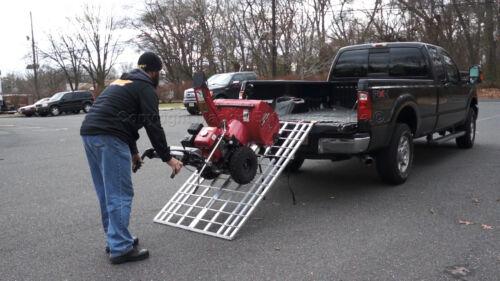 "6/' x 40/"" Five Star Mfg Aluminum Folding Ramp USA 400 ATV//Snow Blower Ramp"