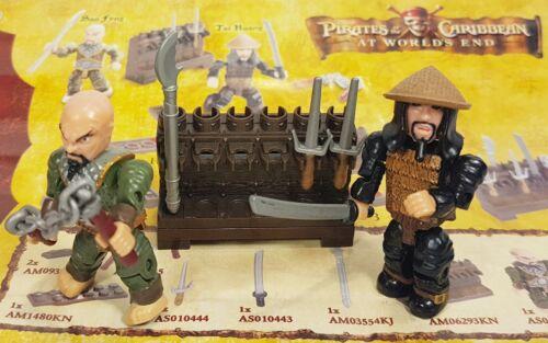MEGA BLOKS 1044 Tai Huang /& Sao Feng Pirates of the Caribbean//Pirates Caribbean